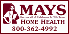 Mays Home Health Logo